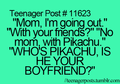 Pikachu Boyfriend - funny photo