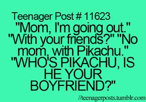 pikachu Boyfriend