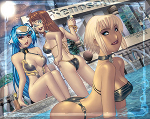 Pin Up Xenosaga