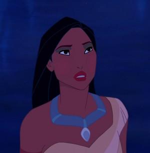 Pocahontas' Teton Trek look