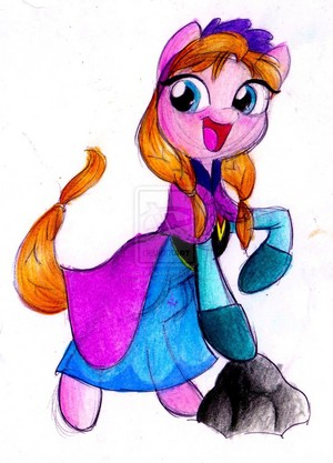 Princess Anna poney