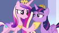 Princess Cadance and Twilight Sparkle