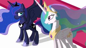 Princess Luna and Princess Celestia