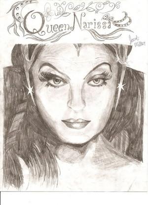 """퀸 Narissa From The 디즈니 Film, """"Enchanted"""""""