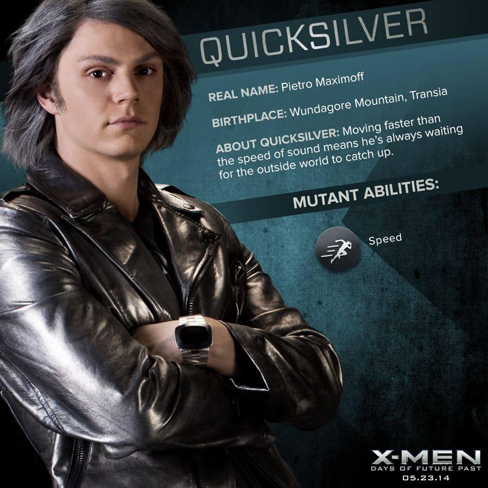 X-MEN クイックシルバーの壁紙