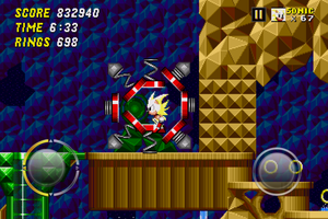 Quite possibly the dumbest thing I've ever done in a Sonic game.