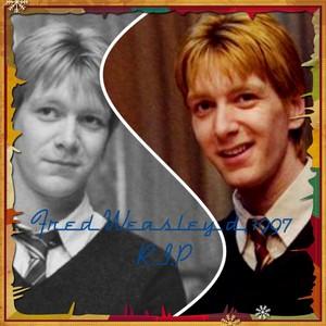 R.I.P. fred Weasley