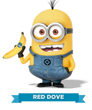 RED colombe MINION