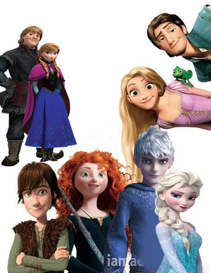 RISE OF THE Frozen Ribelle - The Brave Rapunzel - L'intreccio della torre Draghi