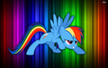Rainbow dash Rainbow style - my-little-pony-rainbow-dash wallpaper