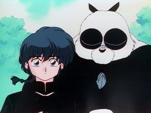 Ranma Saotome and Genma-Panda (らんま)