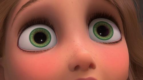 Rapunzel's eyes