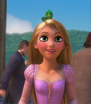 Rapunzel's imaginative look