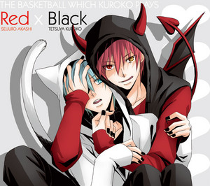Red x Black