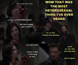 Regina's forbidden fruit
