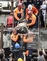 Rescuers carry out a dead miner on May 14, 2014  - turkey photo