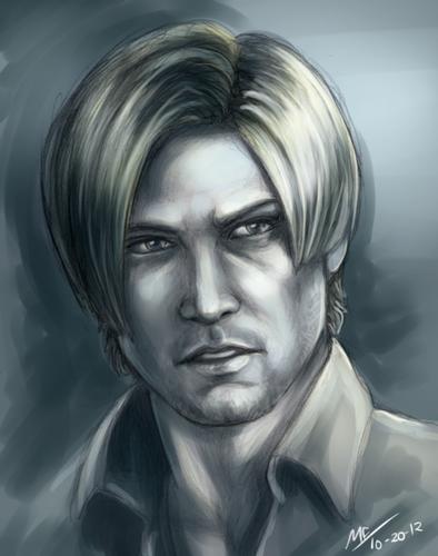 Leon Kennedy 바탕화면 called Resident Evil 6