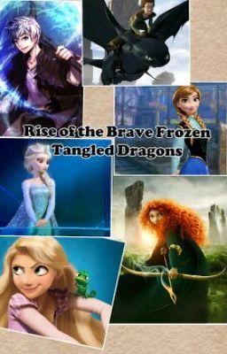 Rise of the Công chúa tóc xù Nữ hoàng băng giá Công chúa tóc mây Những câu chuyện về rồng