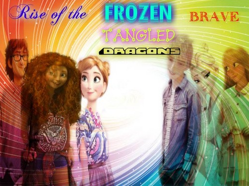 Rise of the Frozen Brave Tangled Dragons images Rise of ... Frozen Tangled Brave