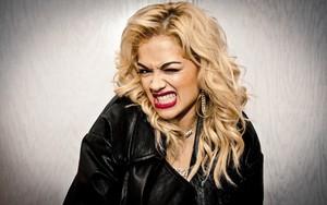 Rita Ora fierce