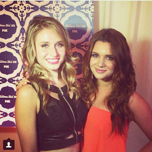 Rita Volk and Katie Stevens