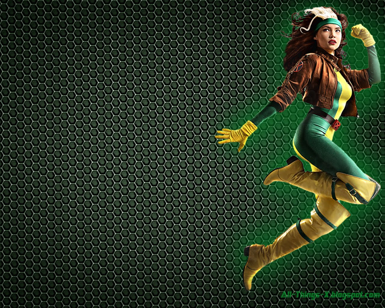rogue wallpapers x men wallpaper 37073792 fanpop