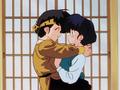 Ryoga hugs Akane 良あ
