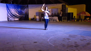 "Saaniya Jackson Performed At ""Dance To The Beat"" 音乐会"