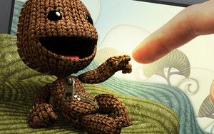Sackboy and Human