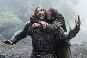 Sandor Clegane and Biter