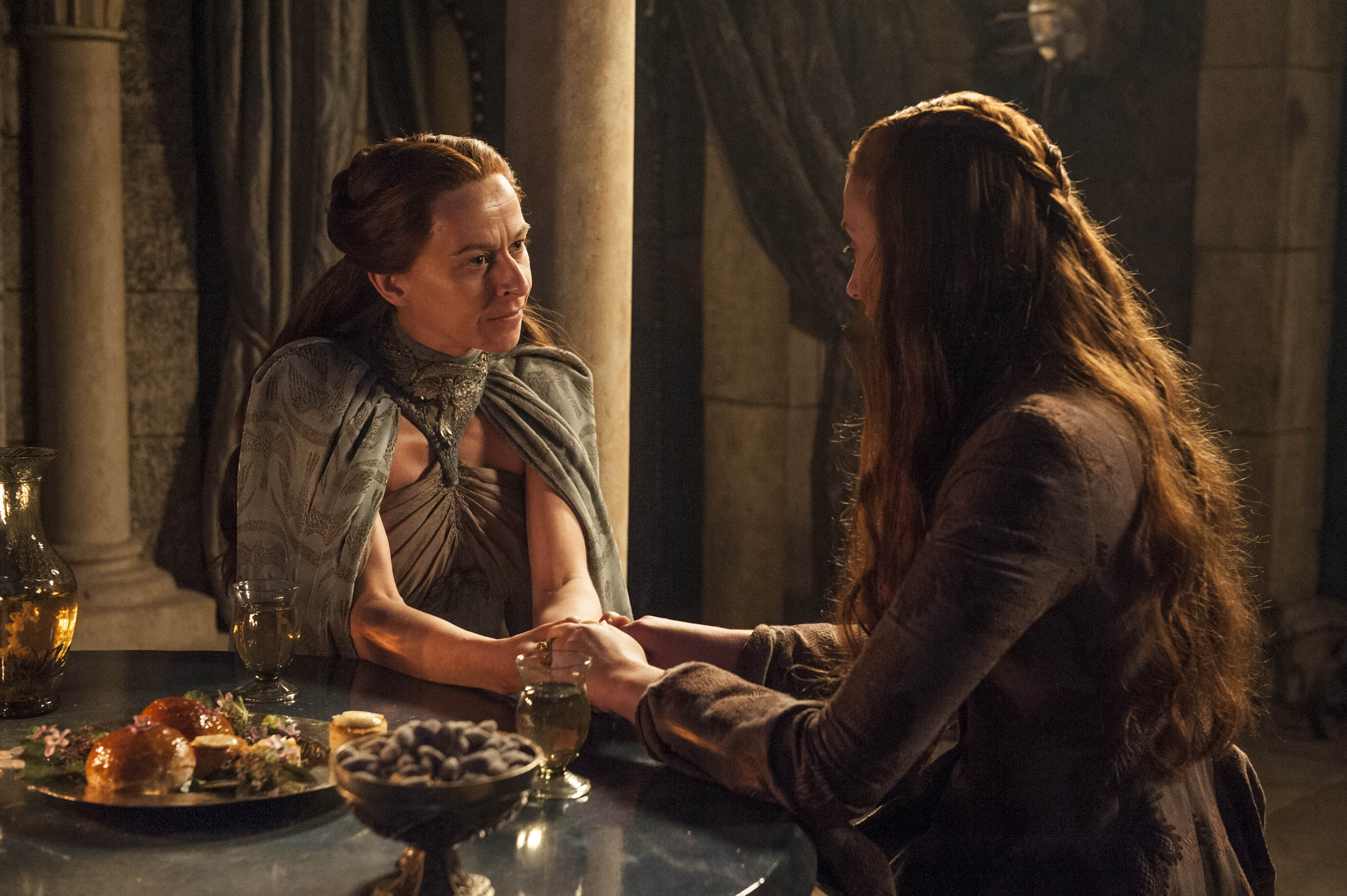 Sansa Stark and Lysa Arryn