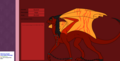 Scorch my offical dragon oc - dragons fan art