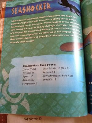 Seashocker Facts (Spoilers)