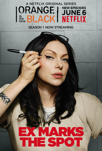 trái cam, màu da cam Is the New Black hình nền containing a portrait titled Season 2 Character Poster: Alex