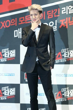 Sehun @ EXO Showtime Press Conference