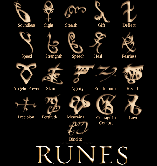 Shadowhunter Runes
