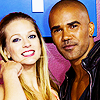Criminal Minds photo containing a portrait titled Shemar Moore and A.J. Cook