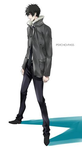 ऐनीमे के लड़के वॉलपेपर titled Shinya Kougami(狡噛 慎也)