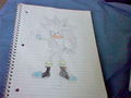 Silver The Hedgehog - sonic-characters fan art