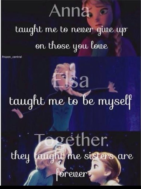 Sisters Are Forever - Frozen Photo (37005425) - Fanpop