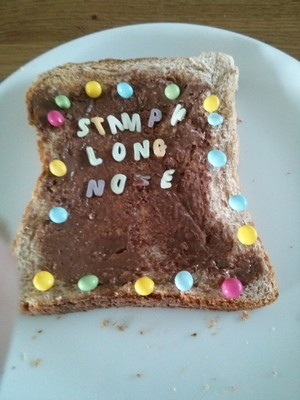 Stampy Long Nose Breakfast