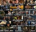 Stan Lee as Cameos in Marvel cine