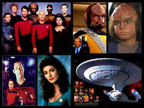 Star Trek-The Next Generation wallpaper probably with a sign titled Star Trek Next Generation