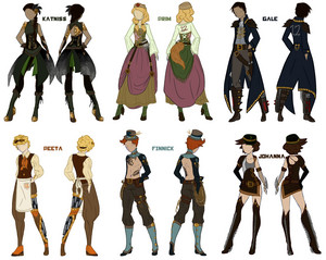 Steampunk Hunger Games