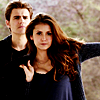 The Vampire Diaries TV Show photo with a portrait called Stefan & Elena 5X21