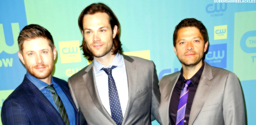 Supernatural Cast - CW Upfronts 2014