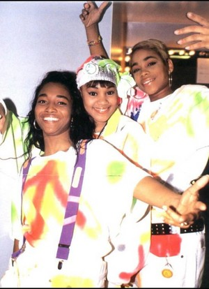 TLC Backstage At The Apollo Theatre
