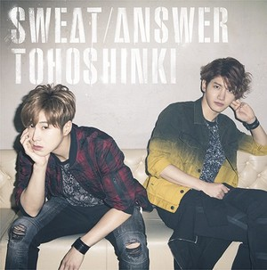 TVXQ 夹克 照片 for new Japanese single 'Sweat/Answer'