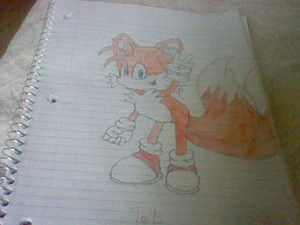 Tails The fox, mbweha (Miles Prower)