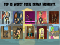 The 10 Worst Total Drama Moments Ever - total-drama-island fan art